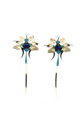Harem earrings Oniyuri
