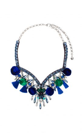 Necklace Tahia Blue