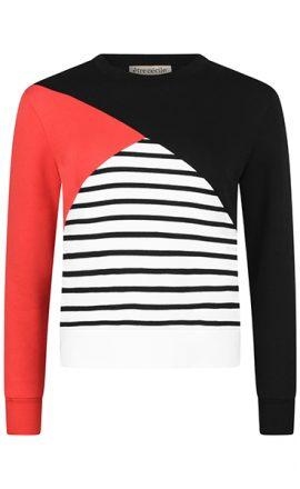 color_block_red_sweatshirt