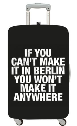 Suitcase Cover Berlin