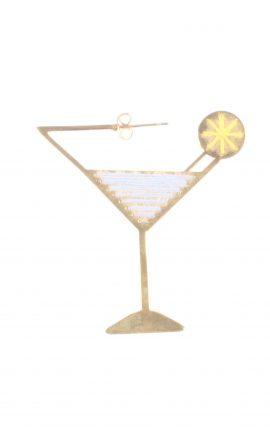 Martini Earring