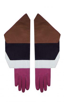 Gloves 4Color Hot Pink