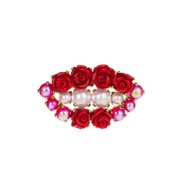 Blossom Lip Brooch