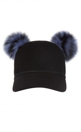Sass Cap Blue Black