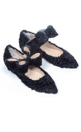 Bonnie Bow Furry Black