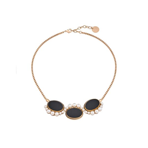 Triple Disc Necklace