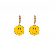 Be Happy Hoop Earrings