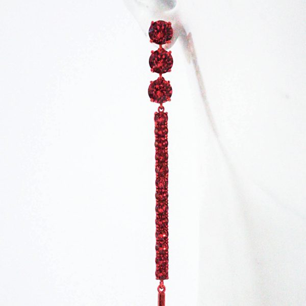 Earring 005 Red