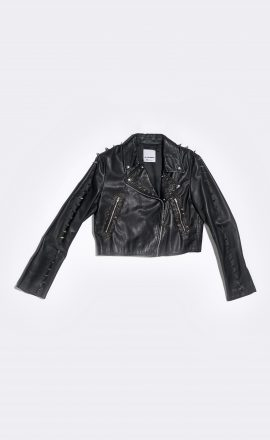 Leather Jacket Studded