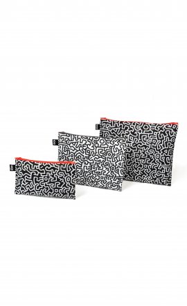 Zip Pockets Keith Haring