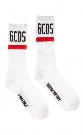 Logo Socks White