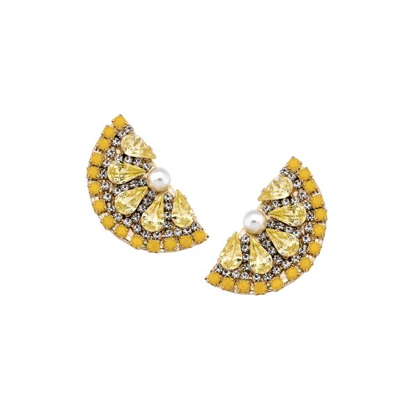 Lemon Slice Earring