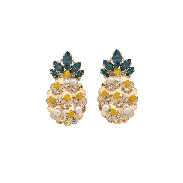 Mini Pineapple Earrings