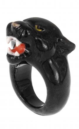 Panther Roaring Ring