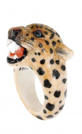 Leopard Roaring Ring