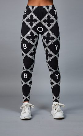 Leggings Black White
