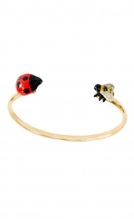 Ladybug Bee Cuff