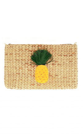 Pineapple Pompom Bag