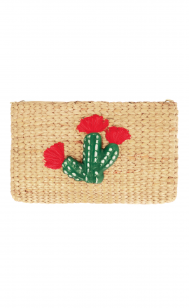 Cactus Pompom Bag