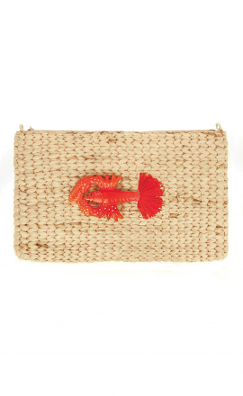 Lobster Pompom Bag