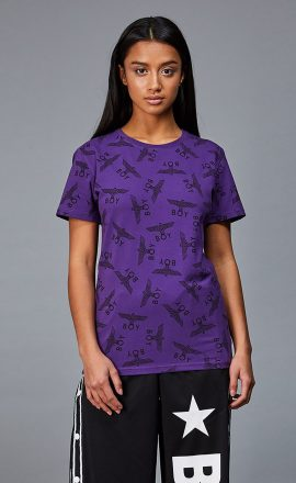 Repeat Tee Purple