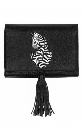 Black Zebra Bag