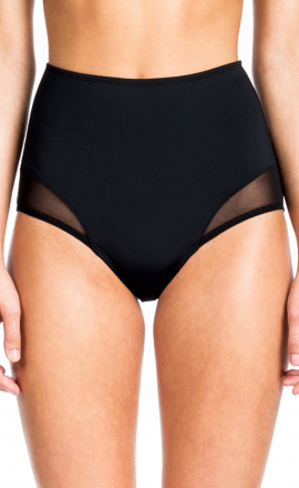High Waist Bottom Black