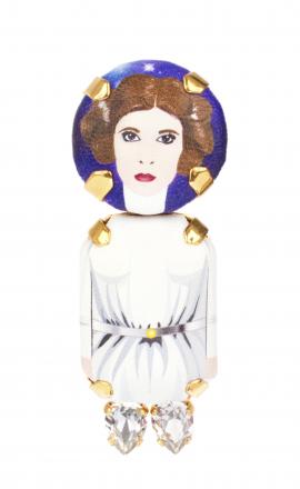 Brooch Princess Leia