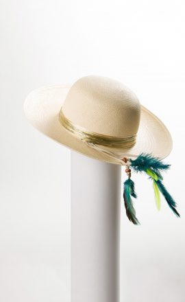 Brim Feather Bleached