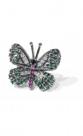 Green Butterfly Earring