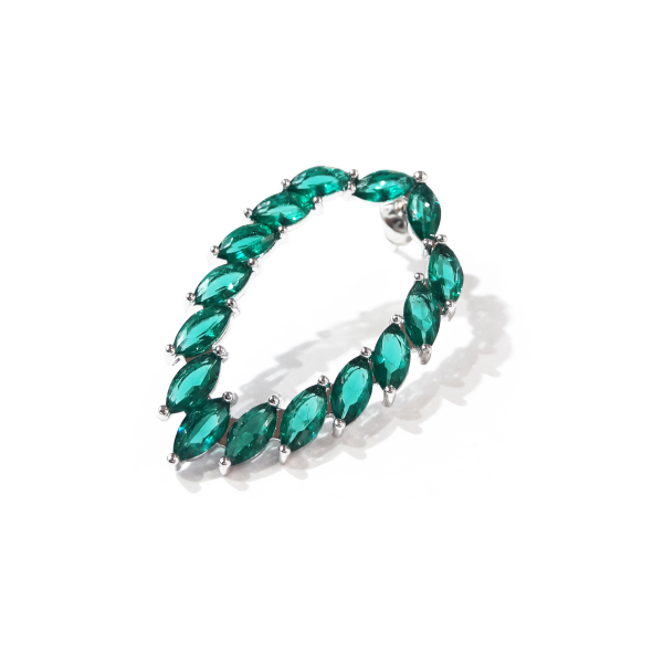 Chacha Green Earring
