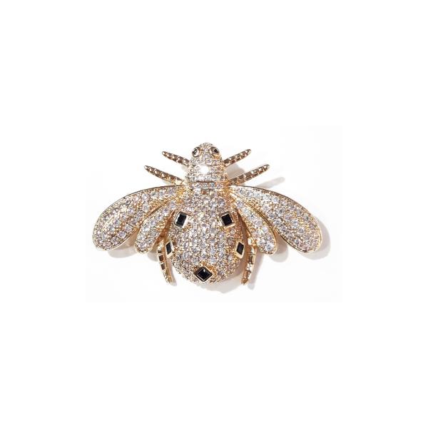 Bee Brooch Gold