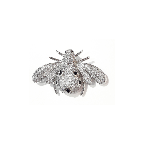 Bee Brooch Silver