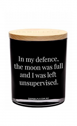 Candle In My Defence (XL)