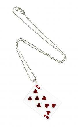 White Card Pendant