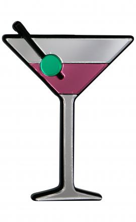 Martini Brooch