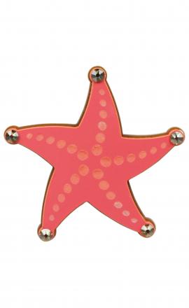 Seastar Brooch