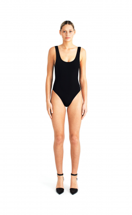Tank One Piece Black
