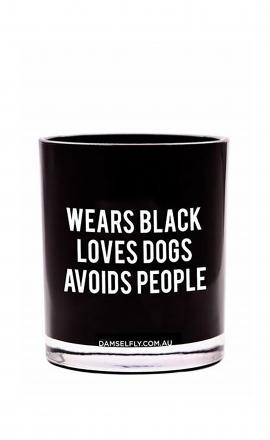 Candle Wears Black L