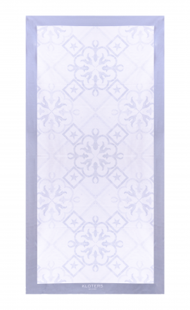 Grey Tile Towel