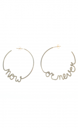 Earrings Now Never