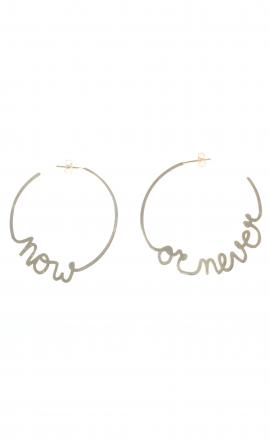 Earrings Now Never