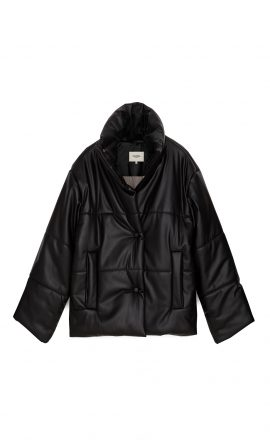 Hide Jacket Black