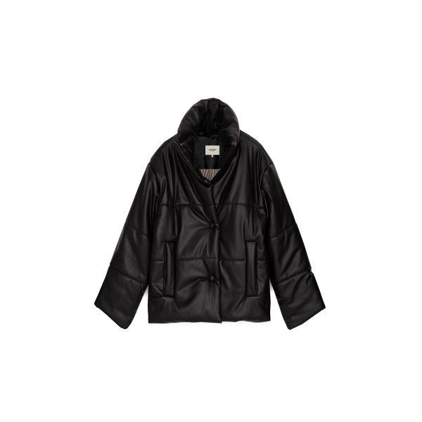 Hide Jacket Black