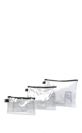 Zip Pockets Transparent