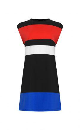 Dress Big Stripe