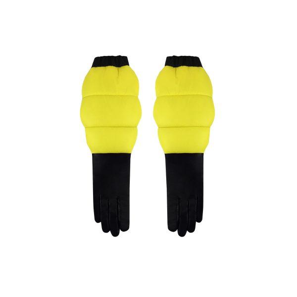 Gloves AW14 Black Yellow