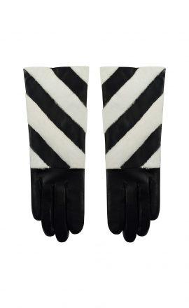 Gloves AW09 Black White