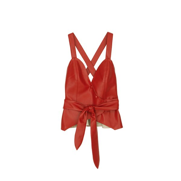Levi Top Red