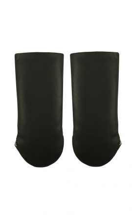 Men Gloves Black Black